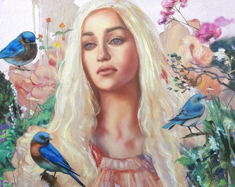 LIMITED EDITION PRINT -  Khaleesi