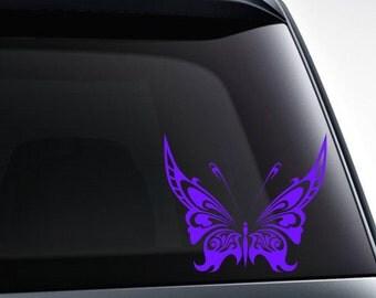 Butterfly die cut vinyl decal sticker for car windows, laptops, etc.