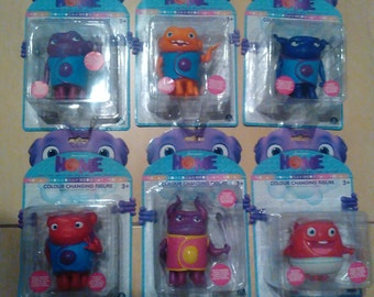 Home-Complete Set of 6 Colour Changing Figures
