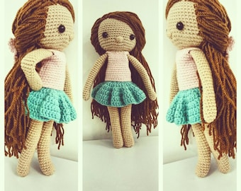 Amigurumi Doll, Crochet Doll