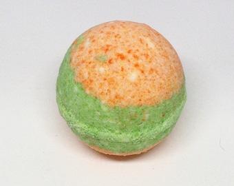 Cucumber Melon Bath Bomb Falling Water Soap Company, Handmade Homemade Soap, Bath Fizzie, Bath Fizzy, Bath Fizz Fiz