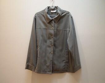 Green vintage shop utility jacket