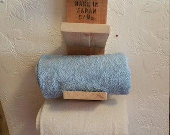 Handmade Towel Rack