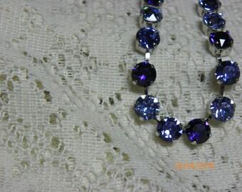 Swarvoski Crystal Cup Necklace