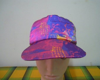 RARE Vintage GOLDWIN Hipster | hip hop | Pop Art  swag cap hat free size for all