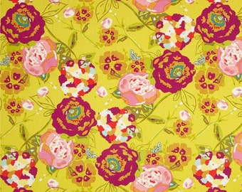Garden Rocket Ruby  - Lilly Blle - HALF YARD - Art Gallery Fabric - Cotton Fabric - Quilting Fabric