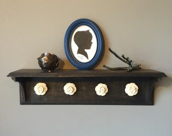 Custom Silhouette Framed with Name