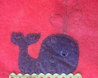 Upcycled Wool Puddle pad/ changing table/blanket