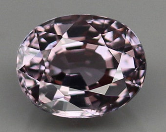 Natural Pinkish Purple Spinel Oval Cut 1.28Ct  6.9mm