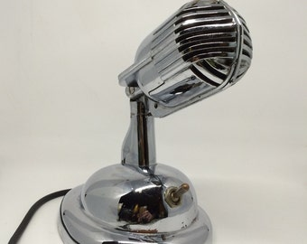 1950's Chrome Shure Bros Mic!