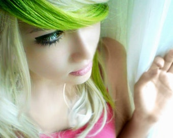 Lime Green Hair Chalk - Salon Grade - Temporary - Non-Toxic