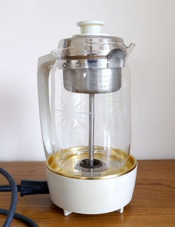 Proctor Silex Lifelong Coffee percolator retro by Plasticgoodies