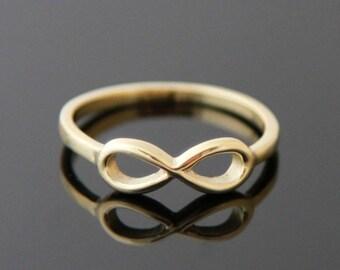 Ring INFINITY 14 karat gold