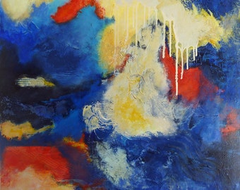 """Original Abstract Painting - """"I Like Color"""""""