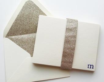 Glitz and Glam Notecards