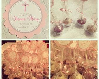 Christening/Baptism, Communion, Confirmation Cake Pops
