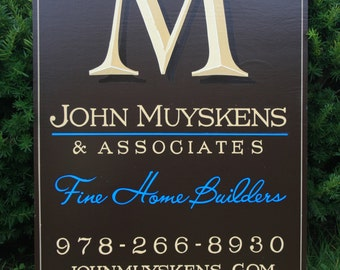 Sign for your Business, Hand Lettered Sign, Wooden Sign