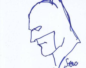 Steve Lieber Signed Sketch
