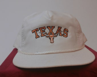 Rare Vintage Texas Longhorns Snapback Hat