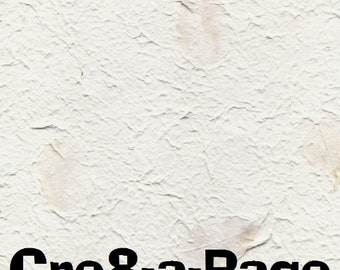 Handmade Leaf Paper 12x12 Scrapbooking, 10 Sheets H-1