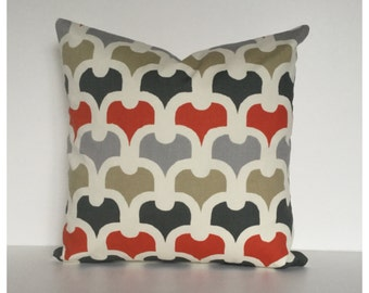 Cushion Cover 40cm x 40cm, Modern Graphic Cover, Accent Pillow Cover