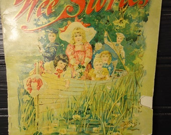 vintage book Wee Stories for children