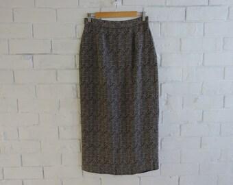 Vintage LAURA ASHLEY Floral High Waisted Maxi Skirt