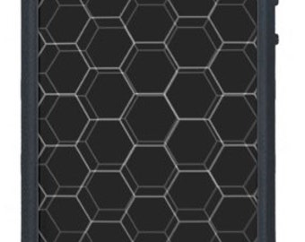 Black Honeycomb for iPhone 6+/6/5/5c/4s/4 Samsung Galaxy s4/s5
