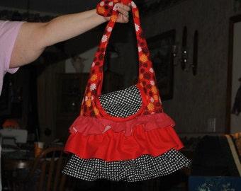 Ruffled Bag