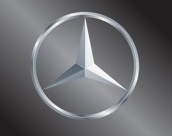 Mercedes Benz Vinyl Decal Sticker