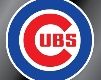 Chicago Cubs Vinyl Decal Sticker