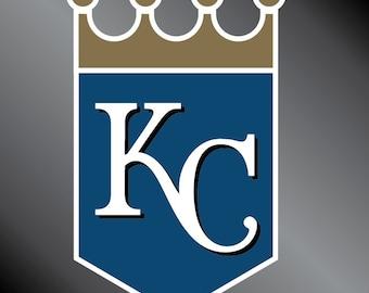 Kansas City Royals Vinyl Decal Sticker