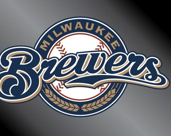 Milwaukee Brewers Vinyl Decal Sticker