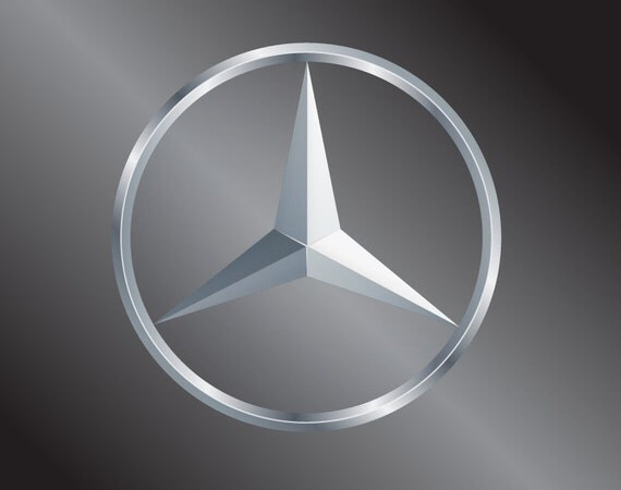 Mercedes benz vinyl decal sticker for Mercedes benz decal