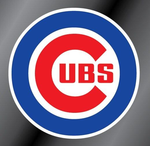Chicago Cubs Vinyl Decal Sticker