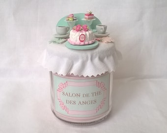 """Candle """"Tea room"""" Collection """"Small counters"""""""
