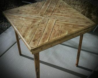 Herring Bone Table