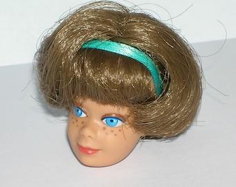 Vintage 1960s Barbie American Girl Midge Head