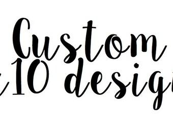 Custom 8x10 Canvas
