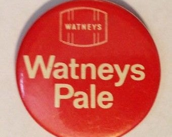 Vintage Watney's Pale Button Pin