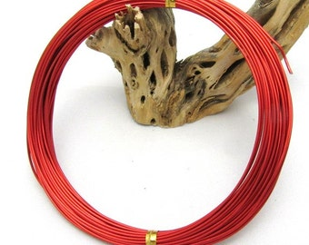 1 Roll 1mm Aluminum Wires Red 10m/roll (BR5)