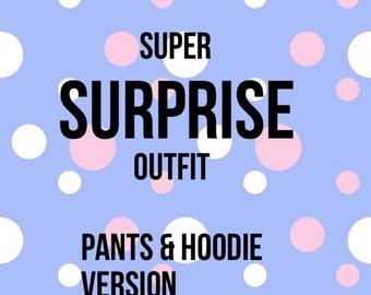 Super Secret SURPRISE Outfit hoodie Version