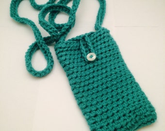 Crochet Phone Pouch Case with Strap
