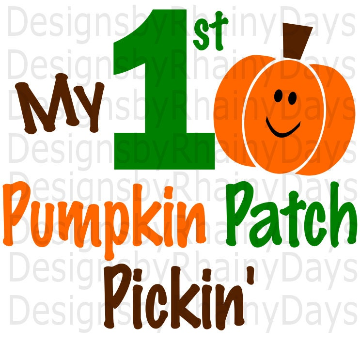 My first pumpkin patch pickin' cutting file, SVG, DXF, png, pumpkin patch boy design, cutting file