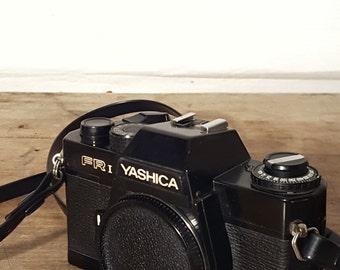 Vintage Yaschica FR1 35mm Camera with Camera Strap