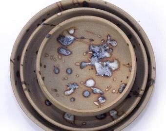 Splatter nesting bowls (3)