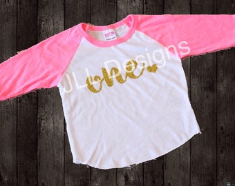 Glitter Birthday shirt, 1 year old birthday shirt girl, first birthday shirt, 1st birthday shirt