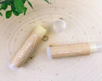 Vegan Lip Balm - Unscented/Natural