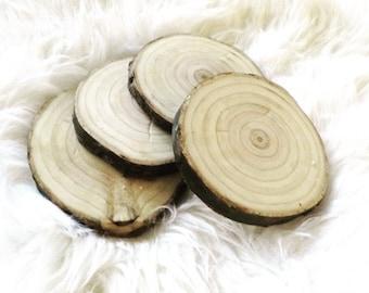 Pine Wood Coasters
