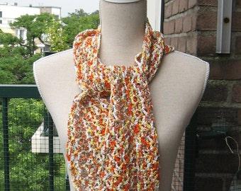 Happy little summer scarf-Merry summer tie of cotton